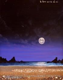 La Luna se ríe de mi